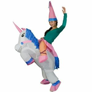 Inflatable Unicorn Princess  Halloween Costume